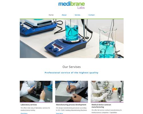 Medibrane -אתר וורדפרס בזול