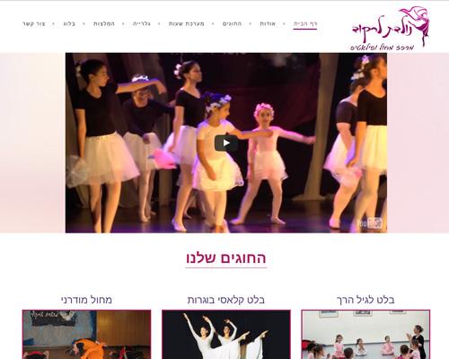 אתר וורדפרס בזול- לרקוד